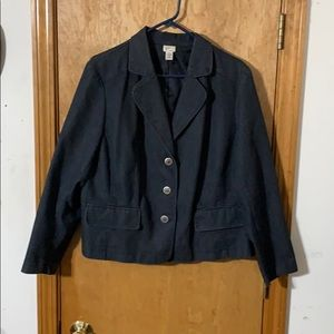 Venezia Denim Jacket with Buttons